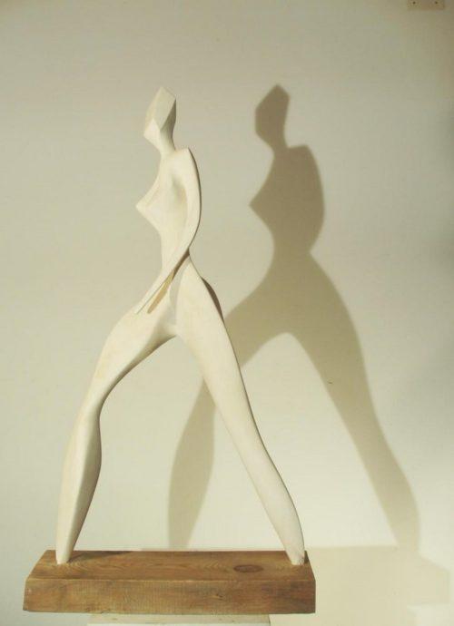 Femme qui marche 3. Platres. H, 1m 03..