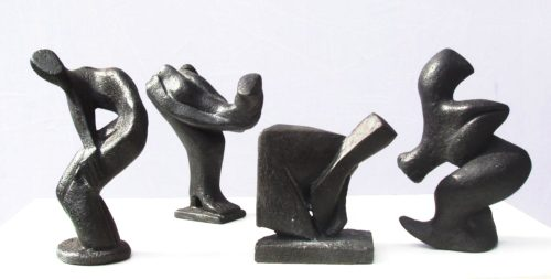 Ombres. Bronzes. H, 0m 10/ 0m 15.