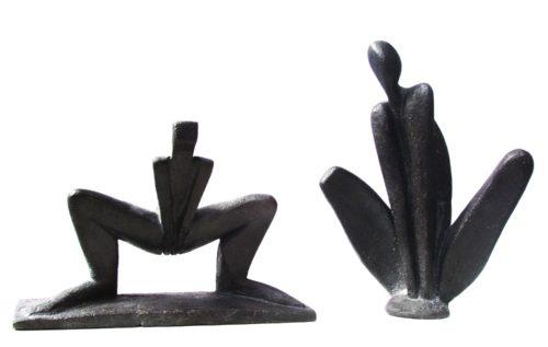 Ombres. Bronzes. H, 0m 15/ 0m 20.