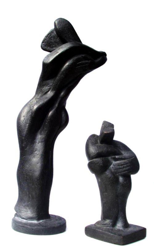 Ombres. Bronzes. H, 0m 10/ 0m 20..