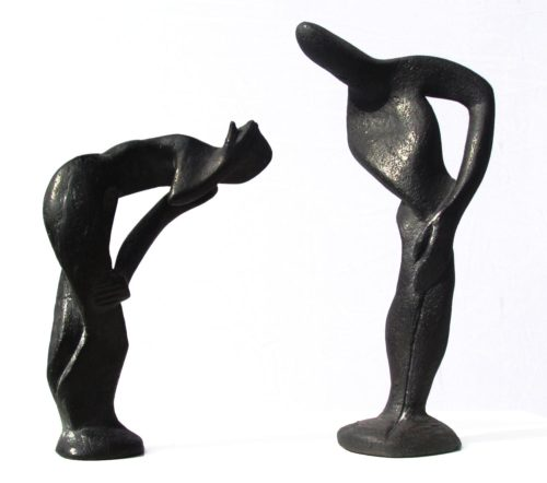 Ombres. Bronzes. H, 0m 15/ 0m 25.