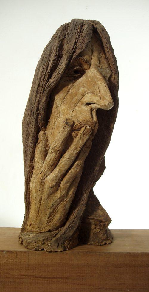 Masque de P. S.Grès. H, 0m 45.