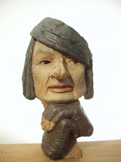 Masque de C. M. Grès. H, 0m 30.